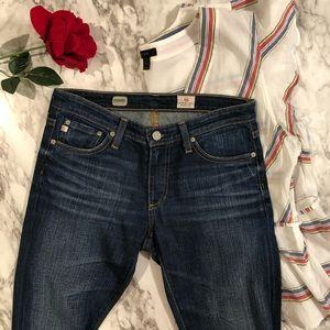 AG Adriano Goldschmied denim skinny jeans size 27R